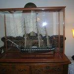 Host Bob's father's ship