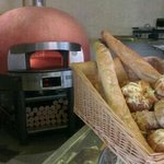 wood fire oven for tasty pizzas...