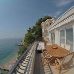 Casa sul mare terrace