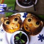 pancakes du petit dej...