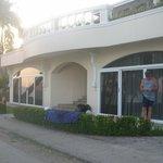 Our beachfront suite ( Royal Villa)