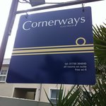 Our new sign and logo reflect our location close to the ocean...