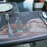 Outdoor table at Burjuman
