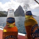 Pitons at the Pitons!