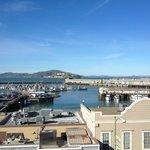 notre vue depuis la chambre 455 Queen-Queen View Bay