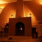 Fireplace in apartement - Villa Zagora