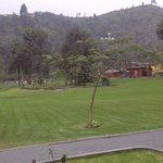Vista amplia del resort
