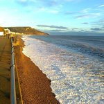 Winter sun at Seaton