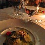 Truffle Ravioli... my favorite course.