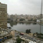 View of the Nile from our room.