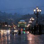 Турин под дождём