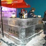 Ice bar right next door!