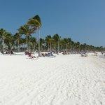 La plage et son beau sable blanc!