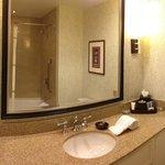 Large vanity area
