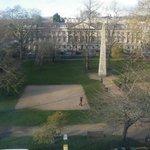 View from bedroom window