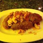 meatballs, sausage, & bracciole, like grandma used to make!