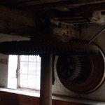 Inside working Water Mill.