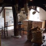 Inside Houghton Mill.