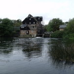 view of Houghton working water mill.