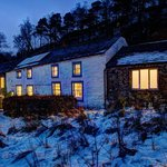Lowthwaite B&B at dusk in the winter