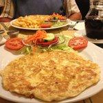 Lovely omelette