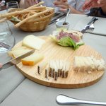 Incredible cheese platter appetizer
