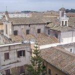 I tetti di trastevere dall'hotel
