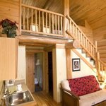 Inside River Dance Lodge Cabins
