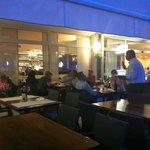 Restauranger vid Marinan