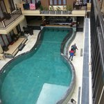pool from 2nd floor