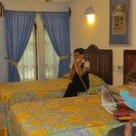 Habitación 2 camas dobles