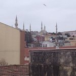 view from the room to Sultanahmet
