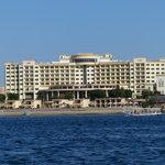 El hotel visto desde el Nilo
