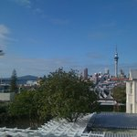 Day view of downtown Auckland from first floor, Ponsonby Manor