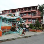 Isla Colon hotel and restaurant