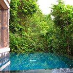 villa pool - too small!