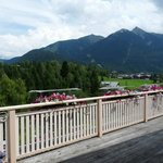 Aussicht Terrasse Sommer