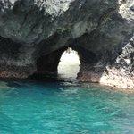 hole in secret lagoon..