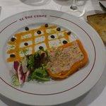 marbré foie gras riz de veau