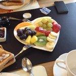 from breakfast