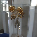 A golden rose from the pope