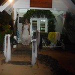 Tailai lounge, excellent staff prepared last minute wedding ceremony location