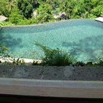 Villa 138 pool taken from bedroom