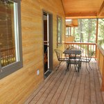 Family Cabins have private balconies.
