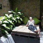 outdoor bathroom courtyard