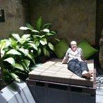 outdoor bathroom courtyard