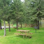 Picnic areas are located throughout our property