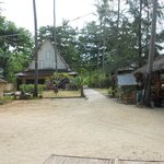 Grounds of resort