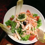 Continental Pub - fish salad