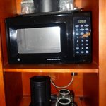 In-room microwave